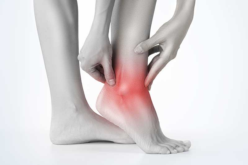 ankle swelling causes